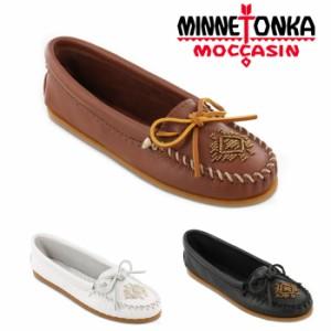1974941daae673 ミネトンカ MINNETONKA ビーズ ディアスキン レディース ウィメンズ モカシン 白 黒 茶 ホワイト ブラック ブラウン 靴 くつ