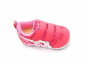 アシックス アイダホ ベビー 3  ピンク/ホワイト  ASICS AIDAHO キッズ スニーカー  ベビー 子供靴 すくすく スクスク SUKUSUKU  ベルク
