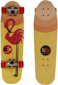 フラミンゴコンプリートスケートボード ReDo Skateboard 503841-1SOC プレミアムクルーザー