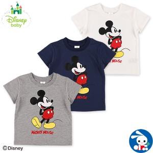 [ディズニー]スタンドミッキー半袖Tシャツ【80cm・90cm・95cm】[男の子 半袖tシャツ tシャツ 西松屋 ベビー服 赤ちゃん服 赤ちゃん ベビ