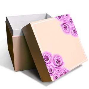 ピンクの化粧箱