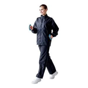 上下セット ハタ メンズ レディース サウナスーツ ウェア ジャケット パンツ ダイエット トレーニング 発汗 有酸素運動 ランニング 送料
