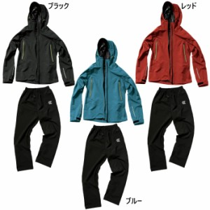 上下セット マック メンズ レディース アークライト レインスーツ レインウェア 合羽 防水 透湿 止水 ジャケット パンツ セットアップ 送