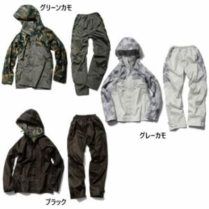 上下セット マック メンズ レディース クロス オーバー レインスーツ レインウェア 合羽 高防水 高透湿 ジャケット パンツ セットアップ