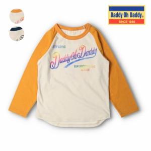 SPセール50%OFF価格:【子供服】 Daddy Oh Daddy (ダディオダディ) ネット限定日本製ロゴプリントラグランTシャツ 80cm〜