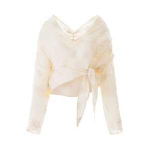 MES DEMOISELLES/メドモワゼル ブラウス ECRU Mes demoiselles ouragan blouse レディース 春夏2020 20SMMDKW00127 ik