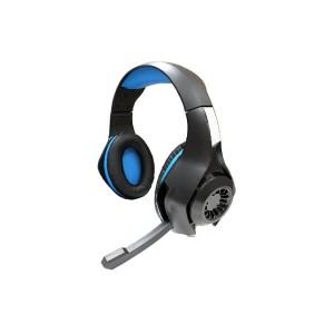 【新品】【PS4HD】PS4用 ゲーミングエディション ヘッドセット(ブルー)[お取寄せ品]