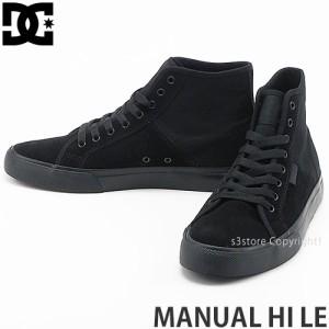 ディーシー MANUAL HI LE カラー:BLACK/BLACK/BLACK
