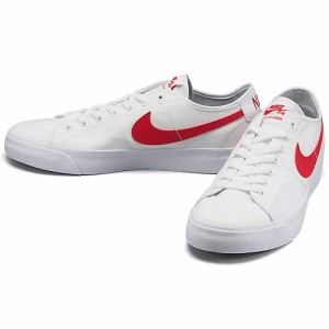 ナイキ SB BLAZER COURT カラー:WHITE/UNIVERSITY RED-WHITE-BLACK