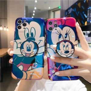 Mickey ケース iphone 12pro Max アイホンケース iPhone8 plusケース ディズニー ミッキー スマホケース 保護 リング付き  携帯カバー