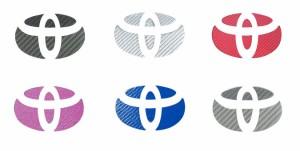 【2日〜9日はポイント10%】ハセプロ マジカルカーボン リアエンブレム専用 トヨタ5 レギュラーカラー(CET-5)