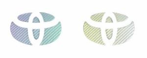 【2日〜9日はポイント10%】ハセプロ マジカルカーボン リアエンブレム専用 トヨタ13 マジョーラカラー(CET-13AD)