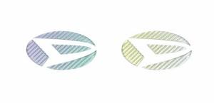 【2日〜9日はポイント10%】ハセプロ マジカルカーボン リアエンブレム専用 ダイハツ4 マジョーラカラー(CED-4AD)