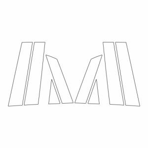 ハセプロ《マジカルカーボン》ピラー スタンダードセット ホンダ フィット GR1〜8 2020.2〜