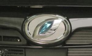 ハセプロ マジカルカーボン フロントエンブレム用 ダイハツ9 レギュラーカラー(CEFD-9)