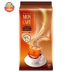 【送料無料】片岡物産 モンカフェ カフェインレスコーヒー 8g×10袋×30袋入