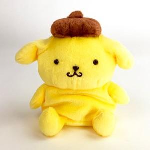 サンリオ ポムポムプリン Sanrio characters FUWAKUTA ポムポムプリン ふわくた ぬいぐるみイエロー グッズ