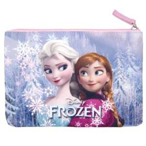 在庫限り: フラットポーチ ピンク アナと雪の女王 ディズニー (ORAY)