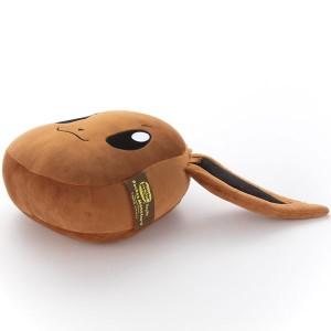 ポケモン イーブイ (Mocchi-Mocchi-Style) フェイス型ぬいぐるみ (ぬいぐるみ) ブラウン 注目アニメグッズ ポケット