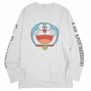 ドラえもんグッズ 長袖 Tシャツ Im Doraemon 笑顔のドラえもん 男女兼用 大人用 送料無料