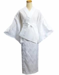 二部式襦袢 洗える 白色 M L 日本製 和装 着物 下着 留袖 結婚式 訪問着 喪服
