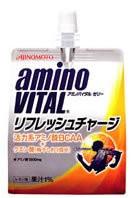 アミノバイタルゼリー リフレッシュチャージ 180g 味の素 スポーツドリンク BCAA アミノ酸ドリンク クエン酸飲料 ゼリー飲料 ※軽減税