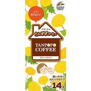 ユニマットリケン たんぽぽコーヒー 42g(3g×14本) ※軽減税率対商品