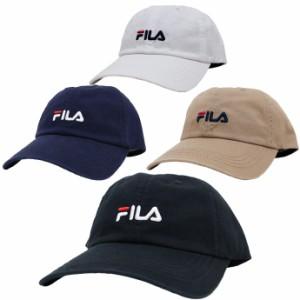 帽子 キャップ メンズ レディース フィラ FILA ベーシック コットンツイル ロゴ刺繍 ジョギング ウォーキング スポーツキャップ exas