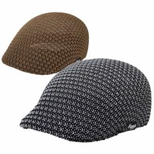 ハンチング ハンチング帽 帽子 メンズ レディース ミックスサーモ exas