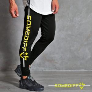 ジム ウェア メンズ スポーツ 筋トレ ジョガーパンツ パンツ おしゃれ ブランド スリム トレーニングウェア ランニングウェア ブラック