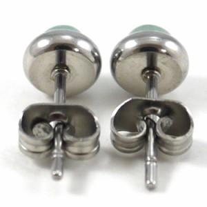 ステンレスピアス パワーストーンピアス(両耳用) 金属アレルギー 316L