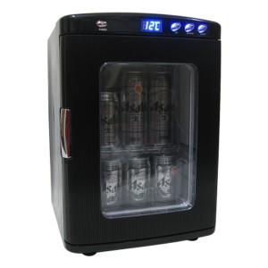 ポータブル保冷温庫ホワイト レッド ブラック 25L 2電源式 小型 冷温庫 保冷 保温 部屋用 温冷庫 冷蔵庫 車載 アウトドア(代引不可)【送