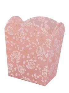 """""""【ゴミ箱】シモーヌ ~バラ柄のアクリル製ダストボックス。アクリル製品で一番売れ筋の柄です♪~ [バラ雑貨] 薔薇雑貨 バラ雑貨 ば.."""