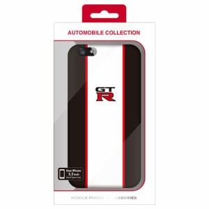 2bc13a6890 エアージェイ NISSAN 公式ライセンス品 GT-R STRIPE HARD CASE BLACK iPhone6 PLUS用