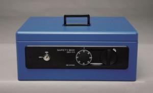 SBX-A4 ブルー (代引き不可) アイリスオーヤマ SBX-A4 【送料無料】 手提げ金庫 手提げ金庫