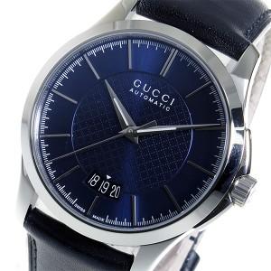 13ea746f4255 グッチ GUCCI Gタイムレス 自動巻き メンズ 腕時計 YA126443 ブルー