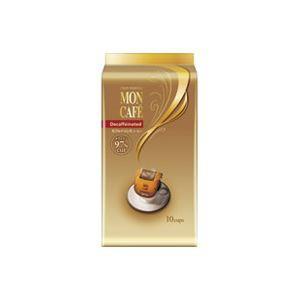 (まとめ買い)片岡物産 モンカフェ カフェインレスコーヒー 10袋 【×20セット】