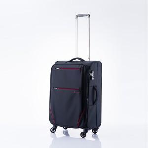 キャリーバッグ Mサイズ 4日間 48.5L フライ スーツケース 旅行 カバン 大容量(代引不可)【送料無料】