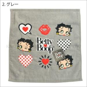 【2枚までメール便200円対応】ベティーちゃん ウォッシュタオル Betty Boop ベティ ブープ 2種類 タオル 生活雑貨 34×35cm タオル┃