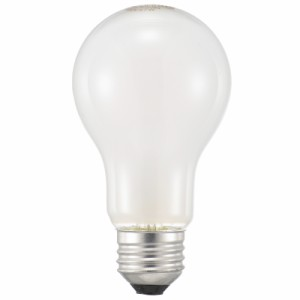 白熱電球 一般形電球 E26 57W シリカ LB-D6657W 06-0642 OHM オーム電機