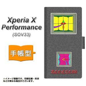 6f6ba8daf2 メール便送料無料 au Xperia X Performance SOV33 手帳型スマホケース 【 YC874 窓03
