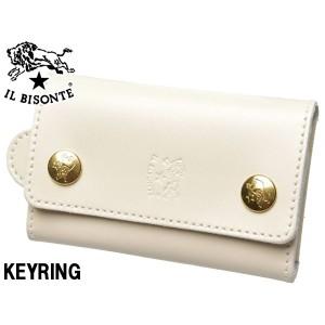 イルビゾンテ キーリング 男性用兼女性用 IL BISONTE KEY RING C0966 メンズ レディース キーケース(01-63600010)
