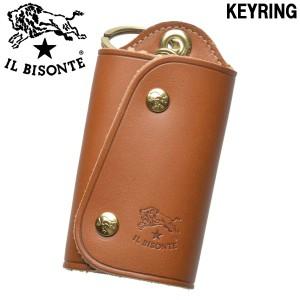 イルビゾンテ キーリング キーケース IL BISONTE KEYRING C0847 メンズ レディース 男性用兼女性用(01-63600084)
