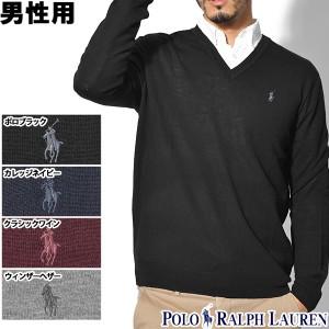 f80c216c7eec4 ポロ ラルフローレン ワンポイント Vネックセーター 男性用 POLO RALPH LAUREN 710715992 メンズ (