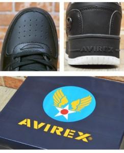 【送料無料】 AVIREX アビレックス TORNADE メンズ スニーカー 本革 レザー ローカット ミリタリー 迷彩 av2232 【取り寄せ】