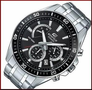3101fc57ee カシオ/エディフィス【CASIO/EDIFICE】クロノグラフ メンズ腕時計 ブラック文字盤 メタル