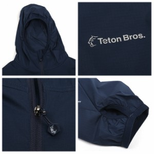 Teton Bros/ティートンブロス パーカー Wind River Hoody  TB181-180 【服】 ジャケット ナイロンパーカー ポケッタブル 軽量 薄手 アウ