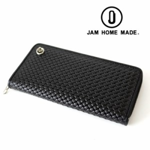 558b342d9857 JAM HOME MADE ジャムホームメイド NUMBER(N)INE BRAIDING ZIP LONG WALLET ナンバーナイン