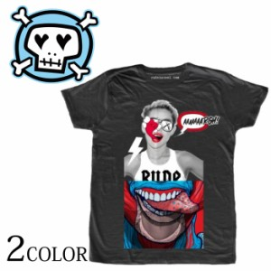 RUDE ルード Tongue (Man) パロディ Tシャツ イタリアブランド 半袖 メンズ tシャツ イタリア