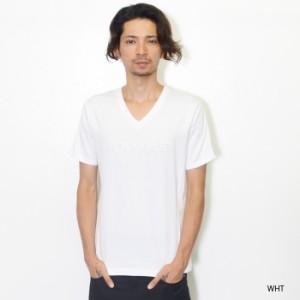 1PIU1UGUALE3 RELAX ウノ ピゥ ウノ ウグァーレ トレ リラックス ウノピュウ tee メンズ 刺繍ロゴ VネックTシャツ XL XXL